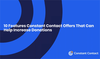 10 Features Constant Contact Offers That Can Help Increase Donations video Snap Shot
