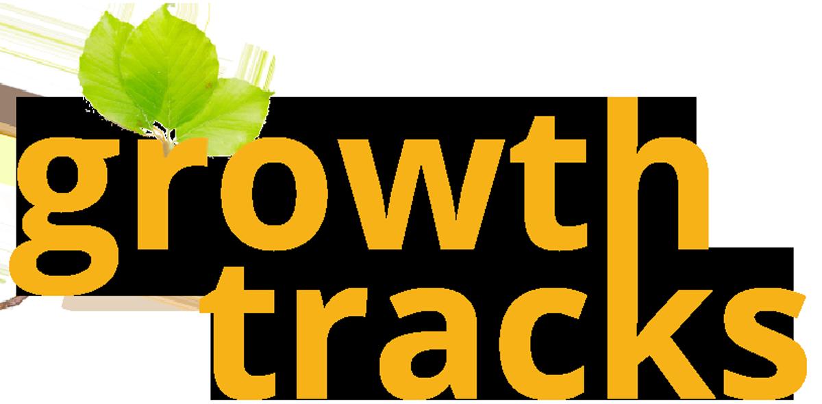 Nonprofit Operational Efficiency Growth Tracks Logo