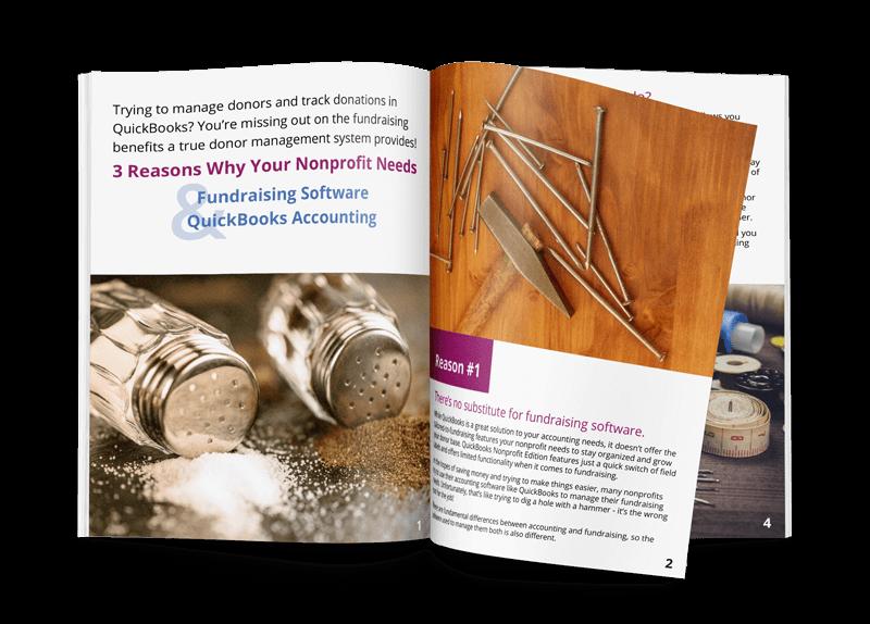 QuickBooks Fundraising Software Ebook Graphic