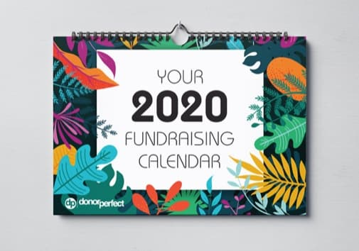Your 2020 Fundraising Calender