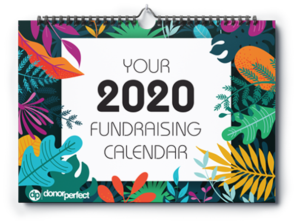 Your 2020 Fundraising Calendar