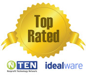 Top Fundraising Software, rated by N-TEN and idealware