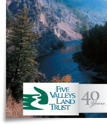 Five valley Land Trust logo