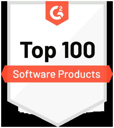 G2 Top 100 Badge