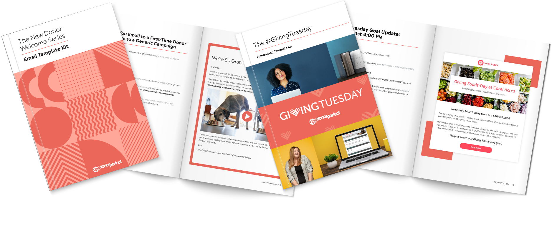 Giving Tuesday Template Kit & New Donor Welcome Series