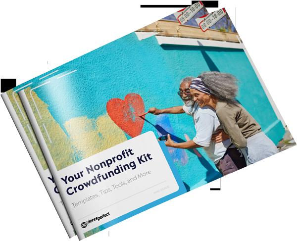 Your Nonprofit Crowdfunding Kit Mockup