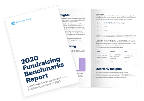 2020 DonorPerfect Fundraising Benchmarks Report