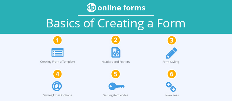 Basics of Creating a Form