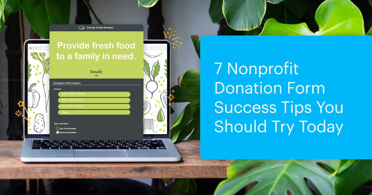7 Nonprofit Donation Form  Success Tips You Should Try Today