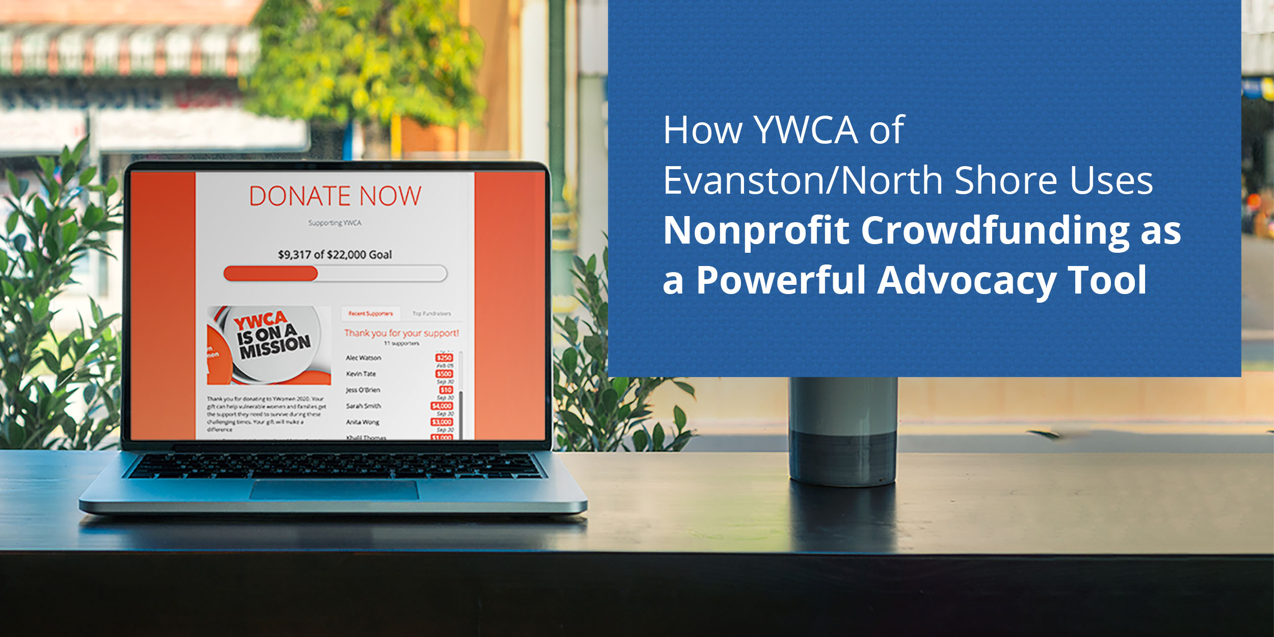 How YWCA of Evanston/North Shore Uses Nonprofit Crowdfunding as a Powerful Advocacy Tool