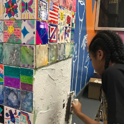 The DonorPerfect Community Gives a Mural to Andrew J. Morrison School