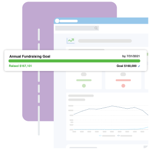 fundraising goal meter example