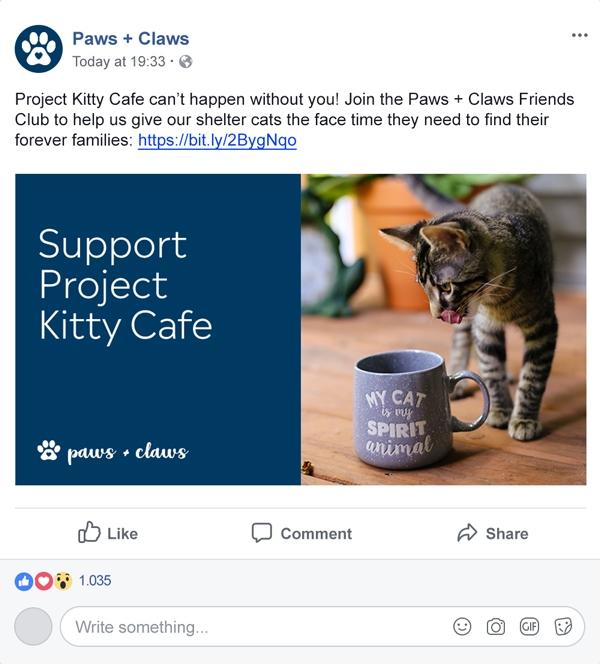 Example GivingTuesday Social Post