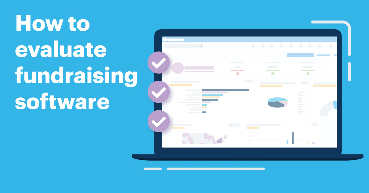 How to evaluate fundraising software