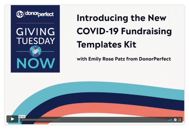 Introducing the New COVID-19 Fundraising Templates Kit
