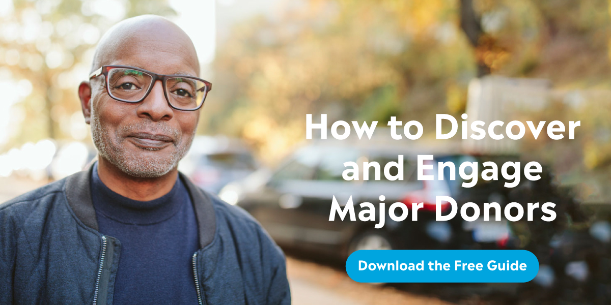 how to discover and engage major donors hero