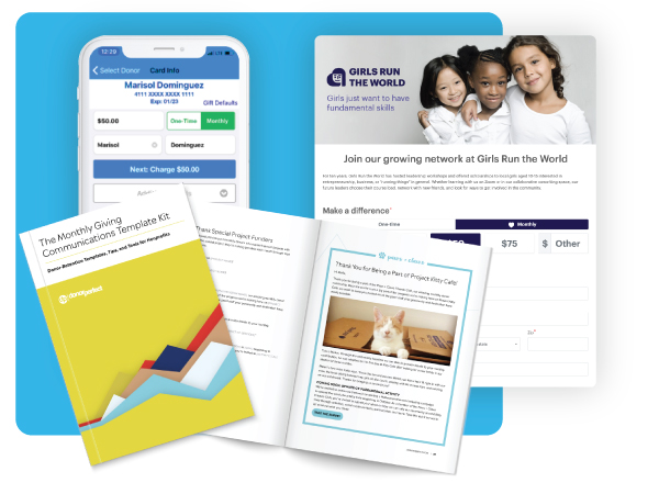examples of monthly giving resources