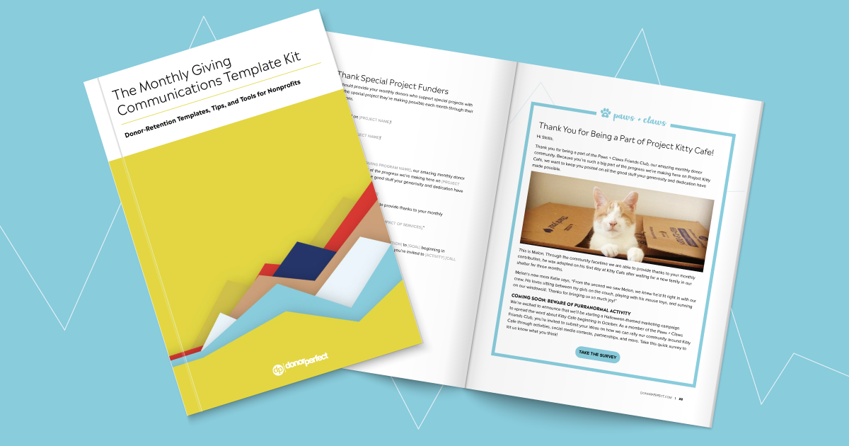 Download Now: The Monthly Giving Communications Template Kit