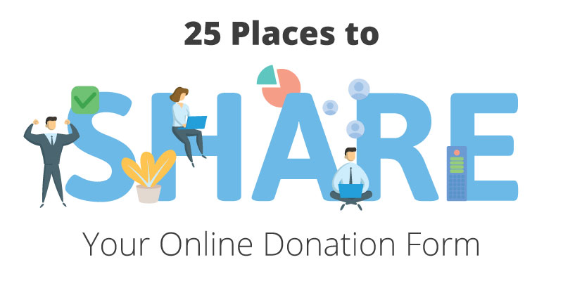 21 places to share