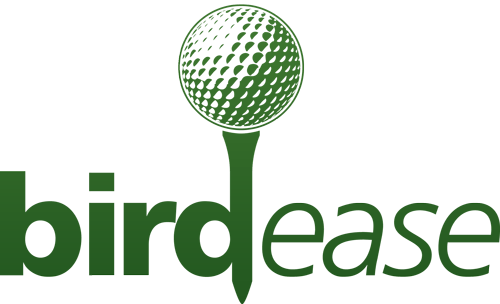 BirdEase Charity Golf Event Management Logo