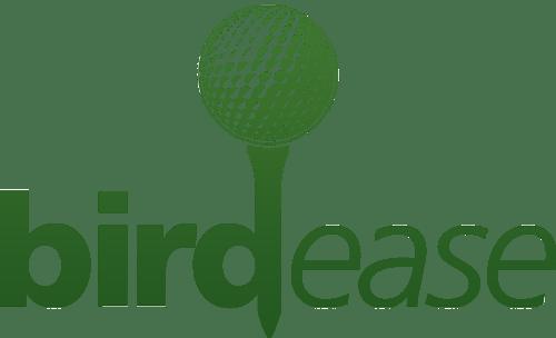 BirdEase Charity Golf Event Management Logo