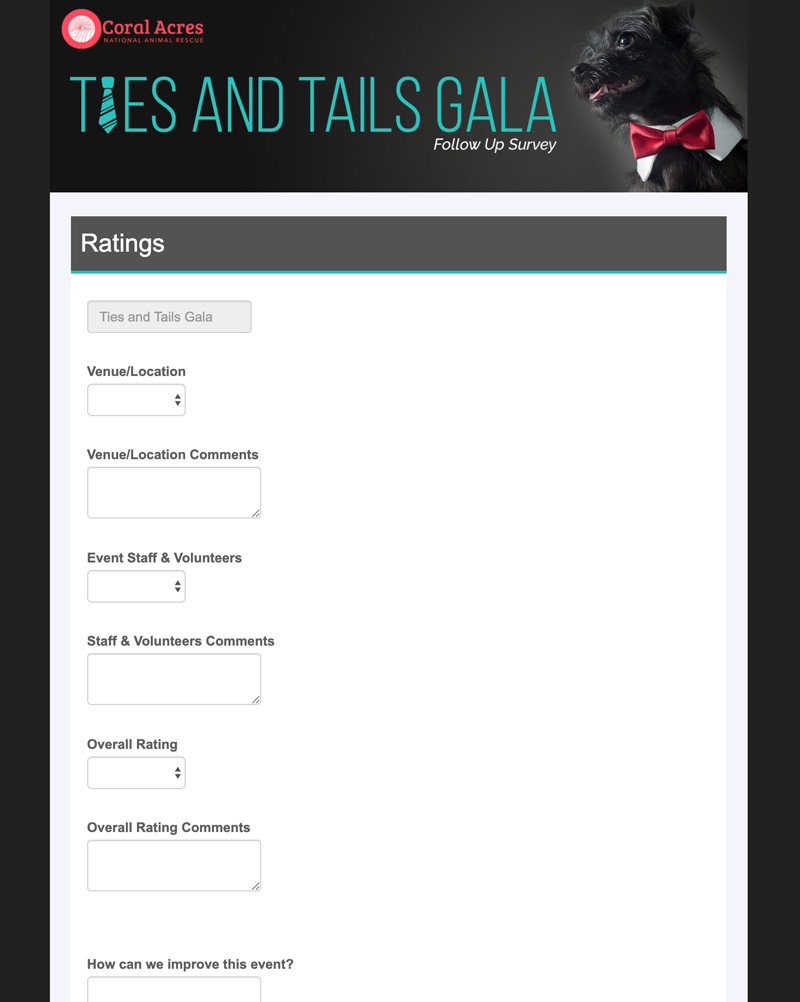 survey for event goers