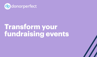 Transform your fundraising events