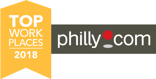 top work places in Philly logo