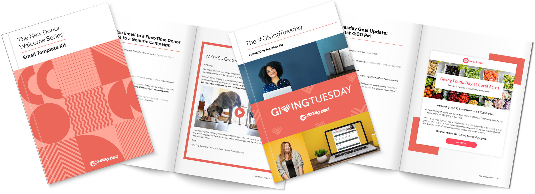GivingTuesday and Welcome Series Template Kits