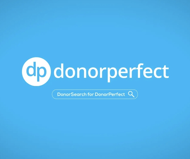 DonorPerfect & DonorSearch Video Thumbnail