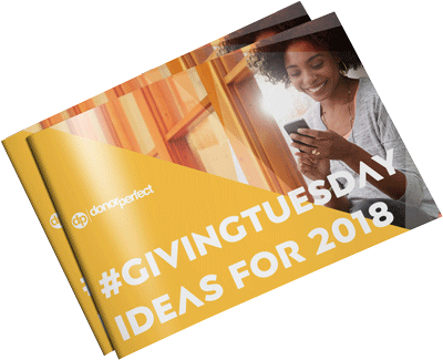 #GivingTuesday Ideas to Engage Everyone  E-Book Mockup