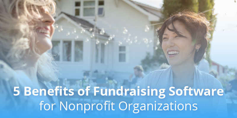 women talking about fundraiser