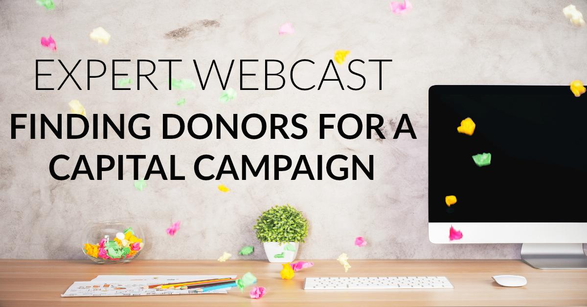 capital campaign webinar