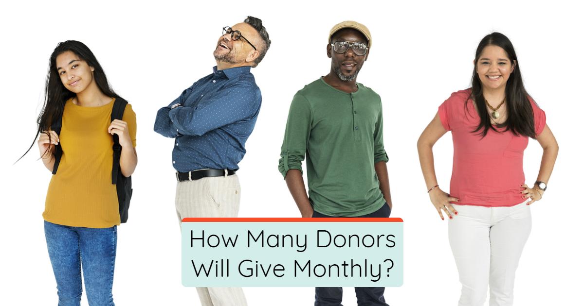 monthly donor program