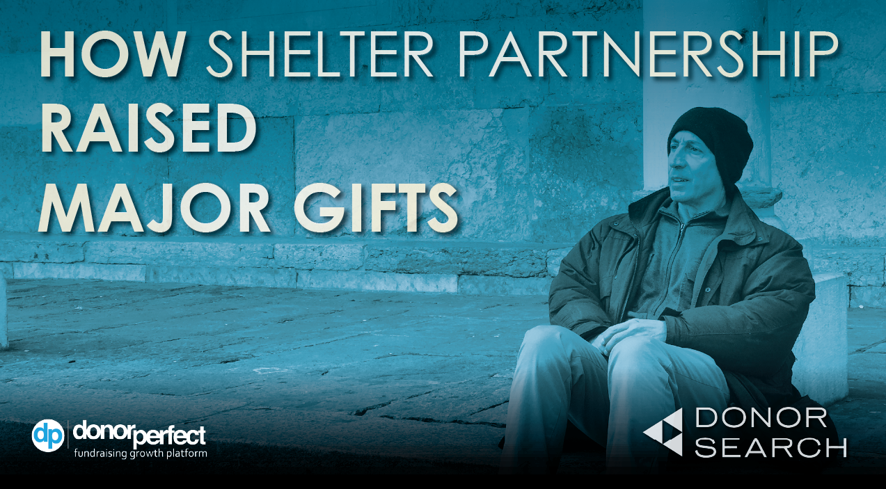 How Shelter Partnership Engaged Donors and Raised Major Gifts