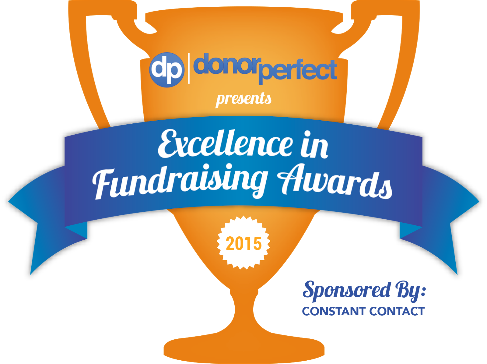 DonorPerfect Fundraising Award Trophy