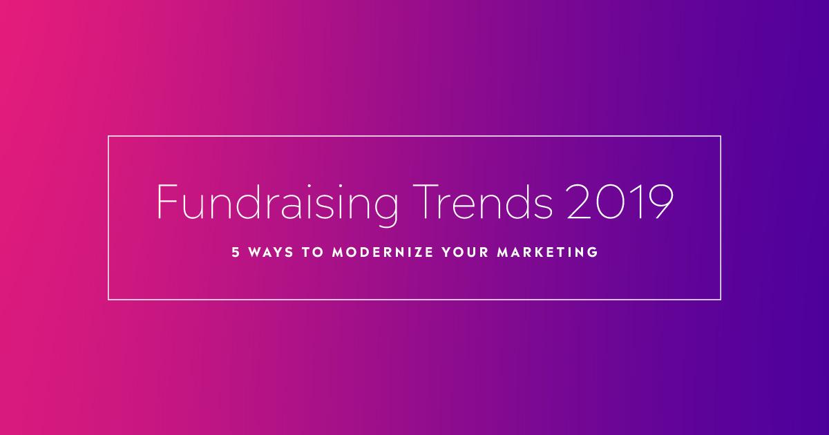 fundraising trends 2019