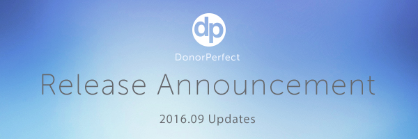 DonorPerfect's powerful reporting and analysis features now include a Report Center and Easy Report Builder.