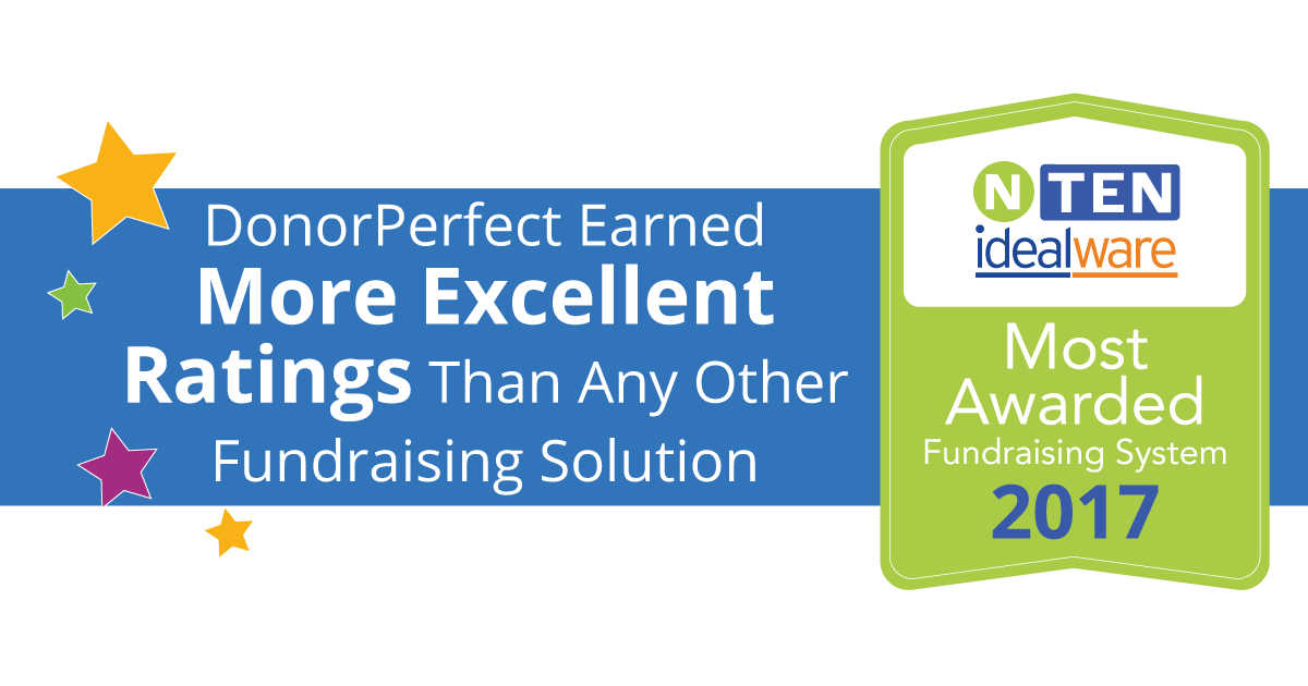 Donorperfect Receives Most Top Rankings In Independant Review