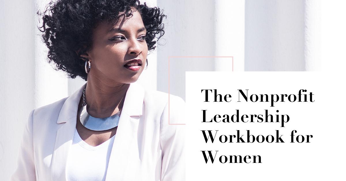 Nonprofit Leadership Workbook for Women Header